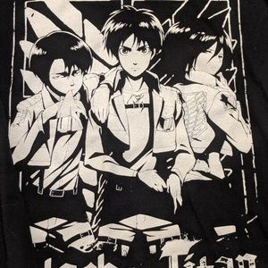 Ripple Junction Shirts - ❗LAST CALL❗Attack on Titan Long Sleeve Graphic Tee